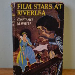 Old book Film starts at Riverlea Constance M white hard cover