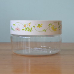 Vintage container with lid