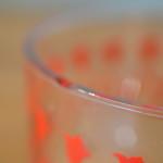 Vintage glass Mixing Bowl