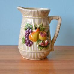 Vintage ceramic jug Mid century