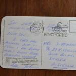 Vintage Postcard 1965 Waikiki beach and the Moana Hotel