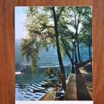 Vintage Postcard 1965 Paris La Sene au Quai d'Anjou