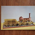 Vintage Postcard 1965 Broad Gauge Locomotive 1840