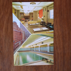 Vintage Postcard 1965 Grand Central YMCA New York
