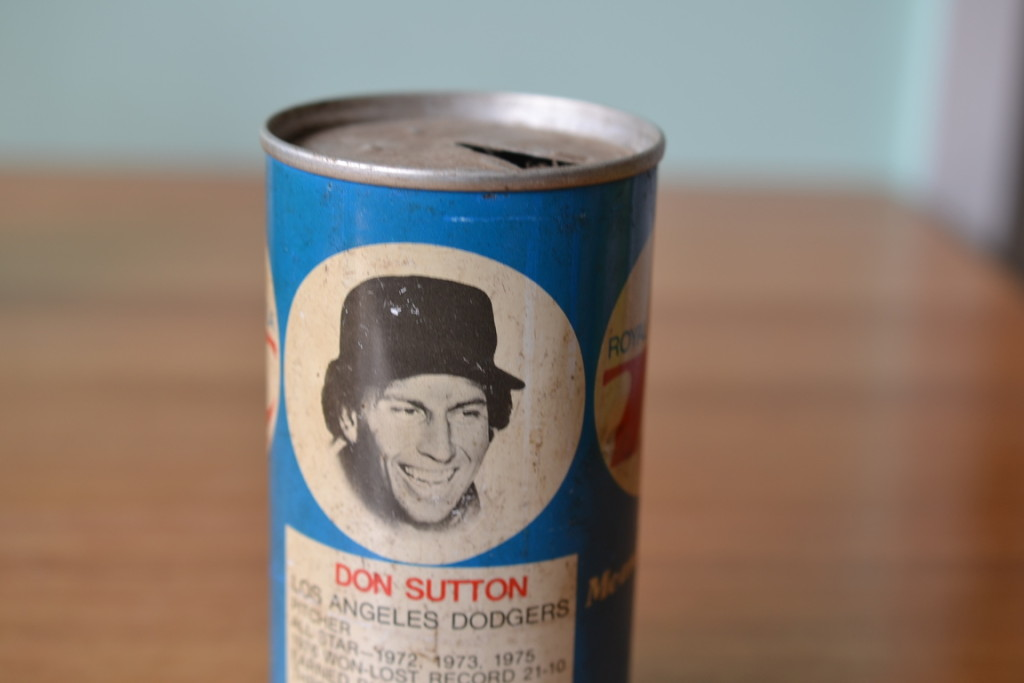 Vintage RC cola can