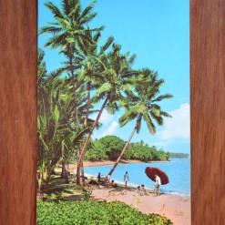 Vintage Postcard 1965 Korolevu Beach Fiji