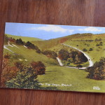 Vintage Postcard 1965 Zig Zags, Roxhill England