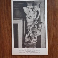 Vintage Postcard 1965 Plaster Model Victoria & Albert Museum
