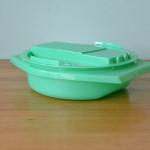Vintage Tupperware grater green