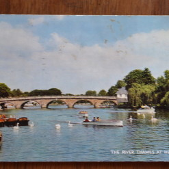 Vintage Postcard 1965 The river Thames at Henley