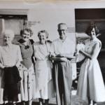 Vintage Black & White photo Family