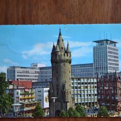 Vintage Postcard 1965 Frankfurt Germany