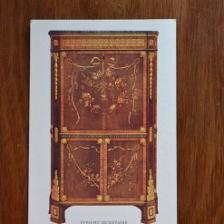 Vintage Postcard 1965 Upright Secretaire Louis XV1