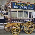 Vintage Postcard 1965 Garden Seat Horse Omnibus London