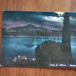 Vintage Postcard 1965 Lago di Albano Rome