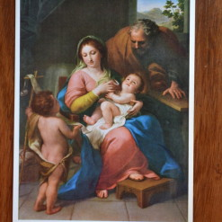 The Holy Family by Anton Raphael Mengs (1728-79)
