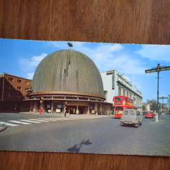 Vintage Postcard 1965 Planetarium & Madame Tussauds Wax Museum London