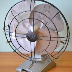 Vintage BGE fan Art Deco display