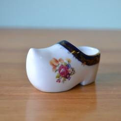 Vintage ceramic Dutch clog made in Germany