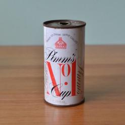 Vintage Pimms soda pop can