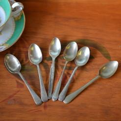 Vintage 6 x teaspoons EPNS A1