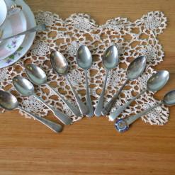 Vintage 9 x teaspoons EPNS A1 : Lot 3 teaspoons