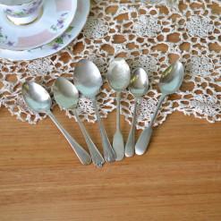 Vintage 6 x teaspoons EPNS A1 : Lot 4 teaspoons