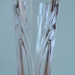 Vintage vase pressed glass / cut glass glassware Art deco