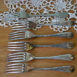 Vintage 6 x forks EPNS A1 : Lot 18