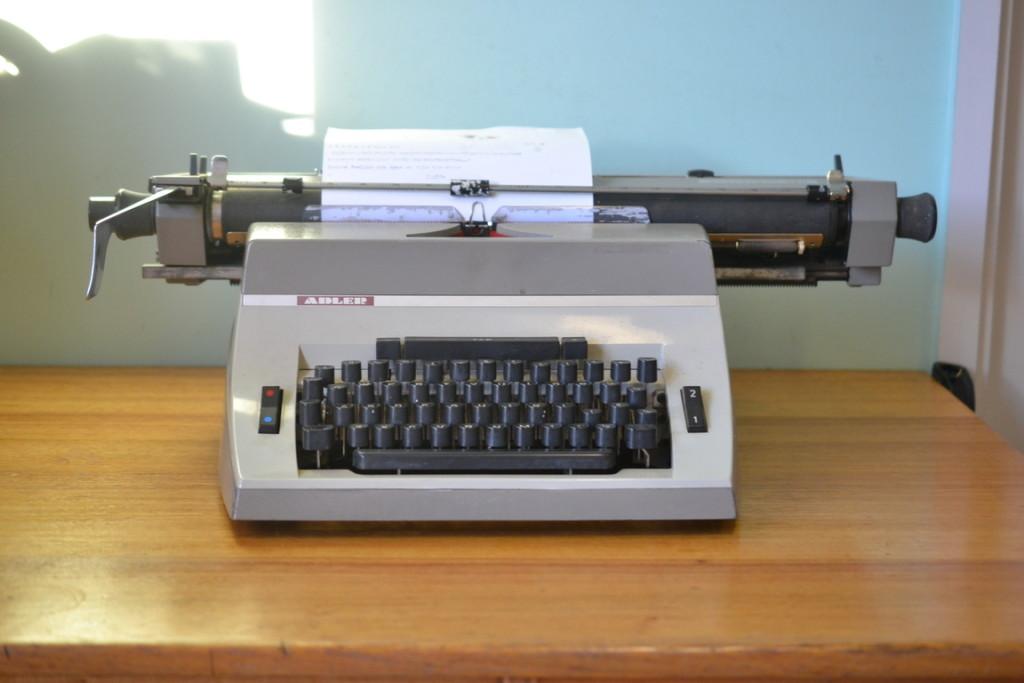 Adler typewriter West Germany