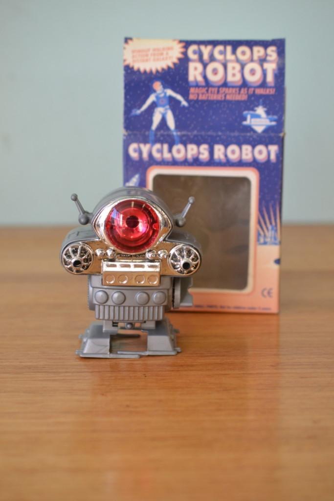 Vintage Accountrements Cyclops Robot 1995