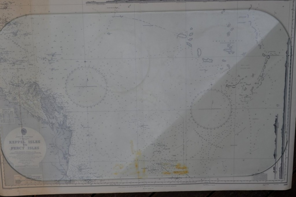 Vintage map Keppel Isles to Percy Isles  Original 1965