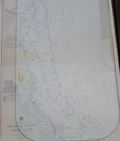 Vintage map Frankland Island to Lizard Island QLD Original 1960