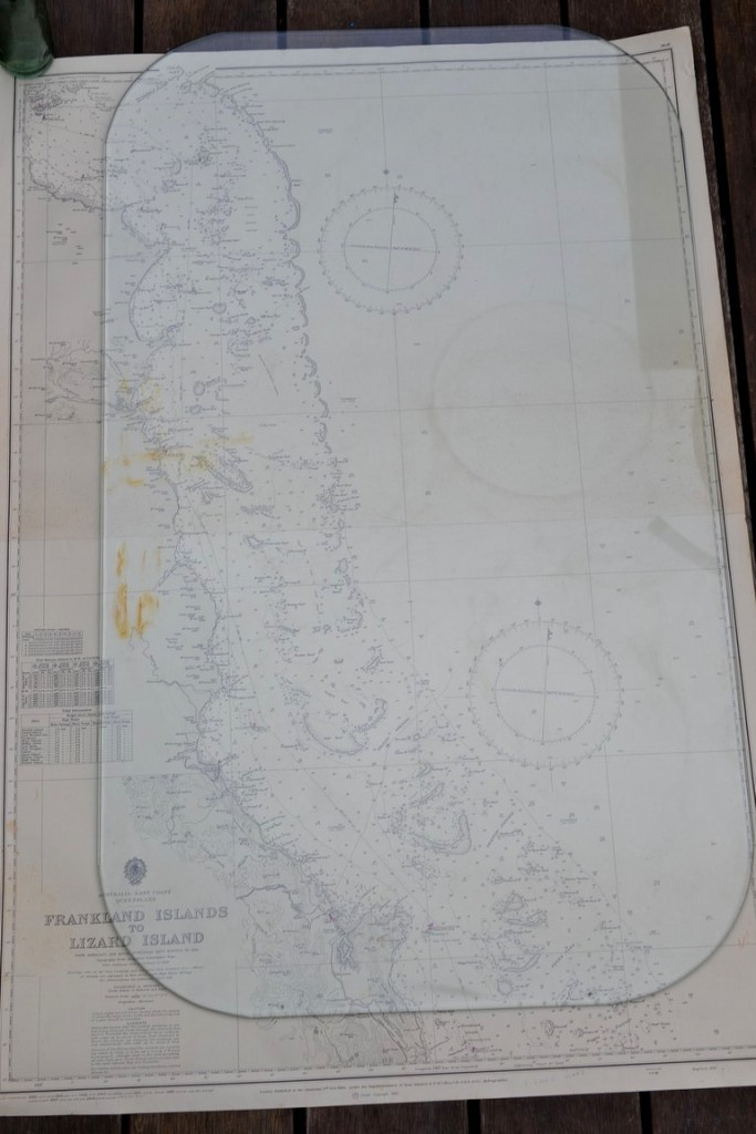 Vintage map Frankland Island to Lizard Island QLD Original 1960