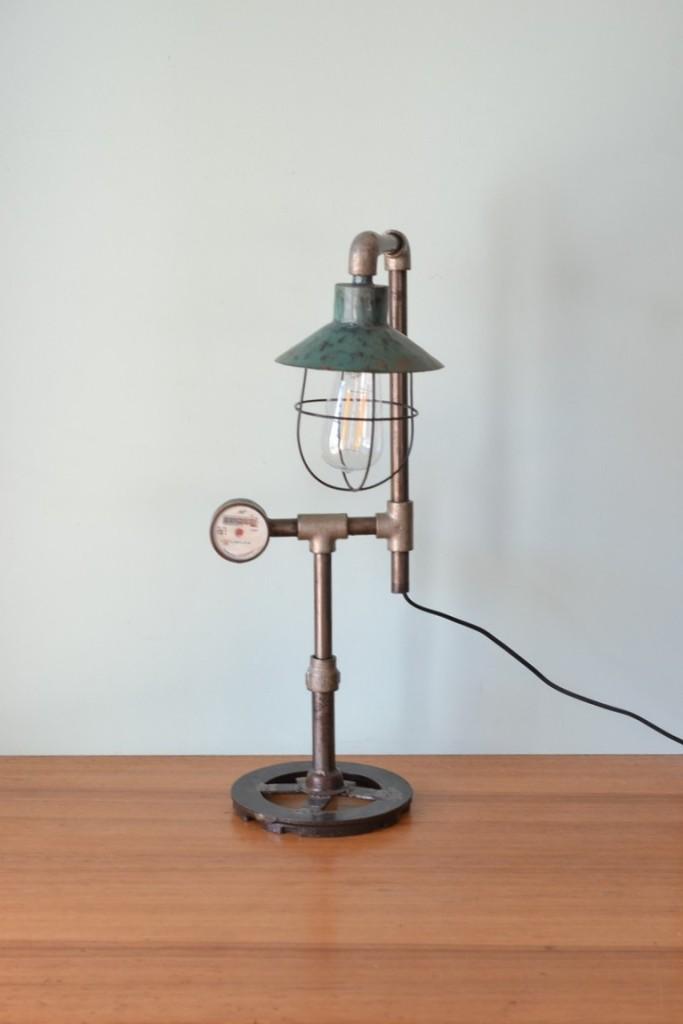 Vintage industrial custom made desk lamp  No 709