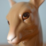 Vintage Ceramic Deer Figure Figurine W R Midwinter Burslem