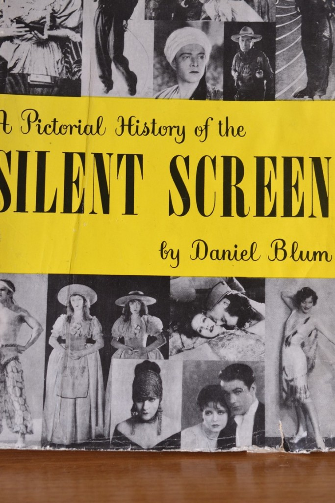 Vintage Book A Pictorial History Of The Silent Screen
