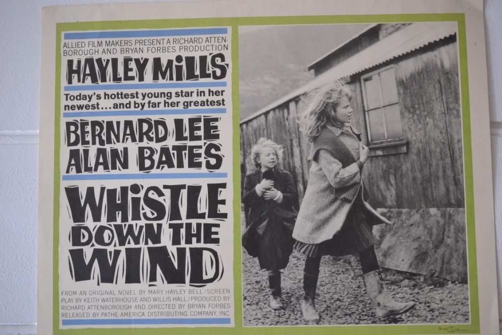 Vintage Lobby Card Whistle Down The Wind Movie Limited
