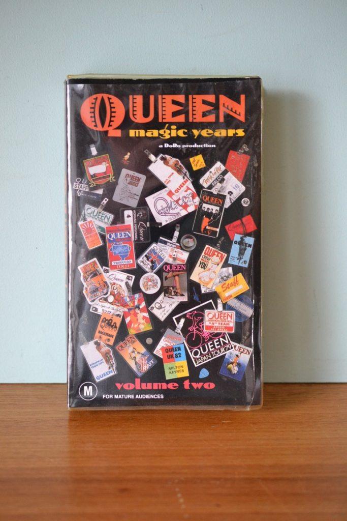 VHS tape  Queen magic years Volume 2 1987 EMI