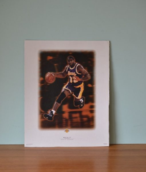 Vintage Magic Johnson 1996 Costacos brothers poster