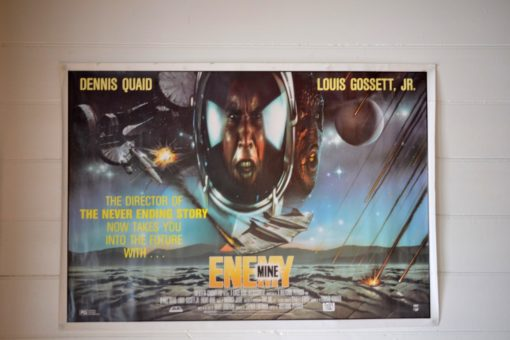The original movie poster one sheet  Envy Mine 1986 Louis Gossett
