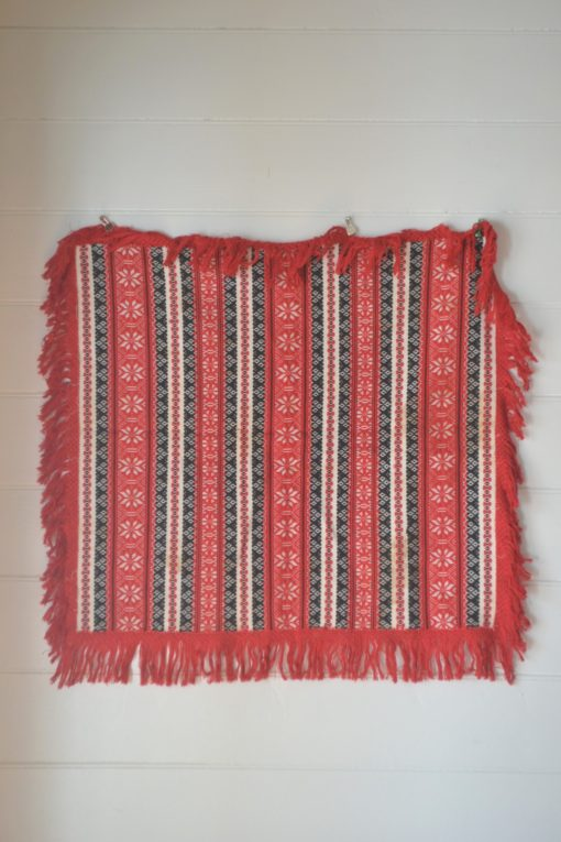 Vintage square tablecloth wall hanging tapestry textiles