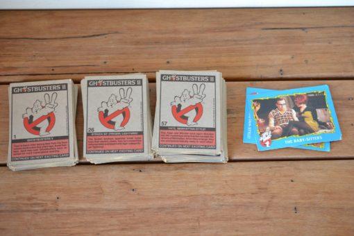 Vintage Ghostbusters II complete set of cards 1-88 1989