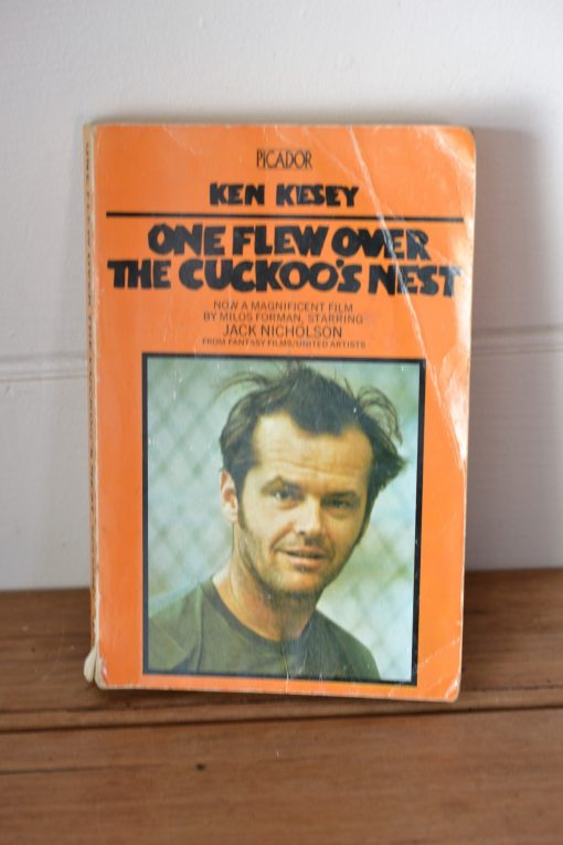 Vintage book One flew over the cuckoo's nest by Ken Kesey 1973