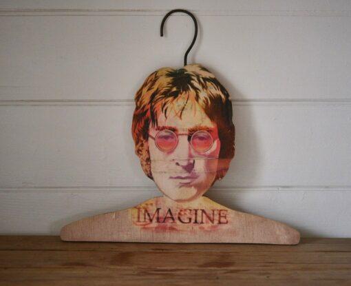 John lennon Imagine coat hanger